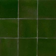 zellige donker groen 601