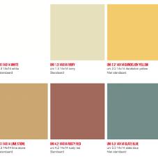 uni kleuren overzicht cementtegels