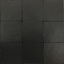 zellige mat zwart 804