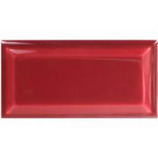 metrotegel tansparant rood