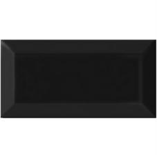 metrotegel mat zwart