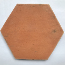 terracotta hexagon rood