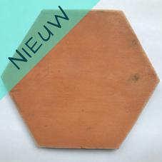 terracotta hexagon rood