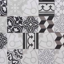 patchwork zwartwit