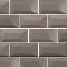 metallic 3D mozaiek aluminium