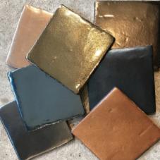 metallic tegels