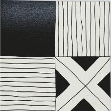 vierkant zwart wit