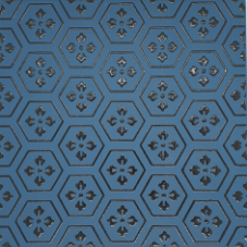 artdeco hexagon